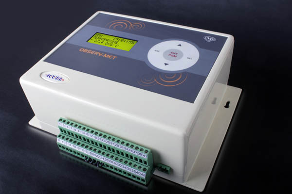 16 Channel Temperature Data Logger Voltage : Automatic weather station data logger observe met